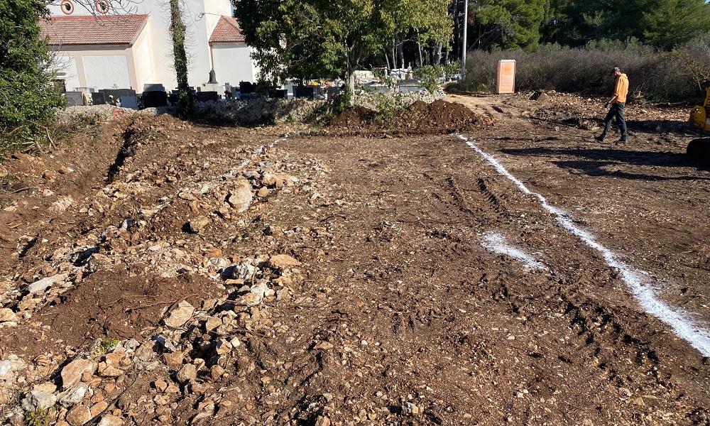 Proširenje groblja