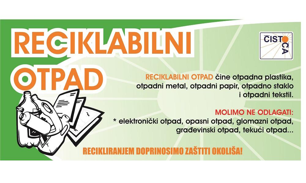 Kante za reciklabilni otpad